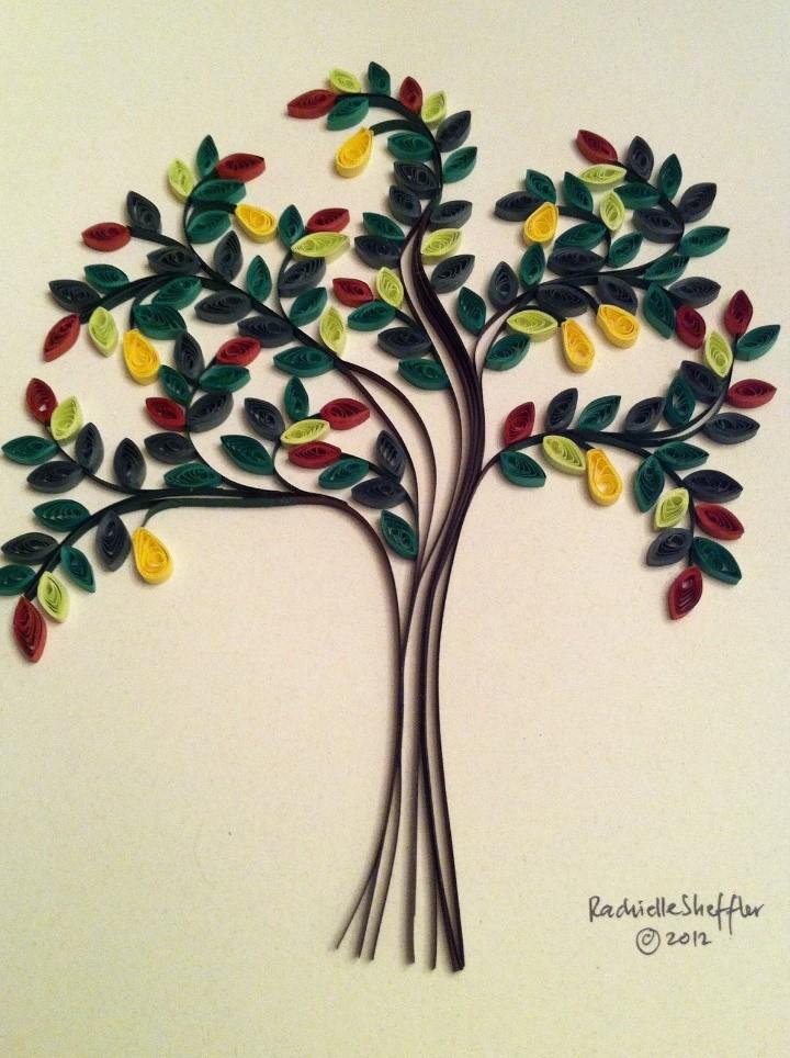 Как сделать дерево любви квиллинг - ItHour